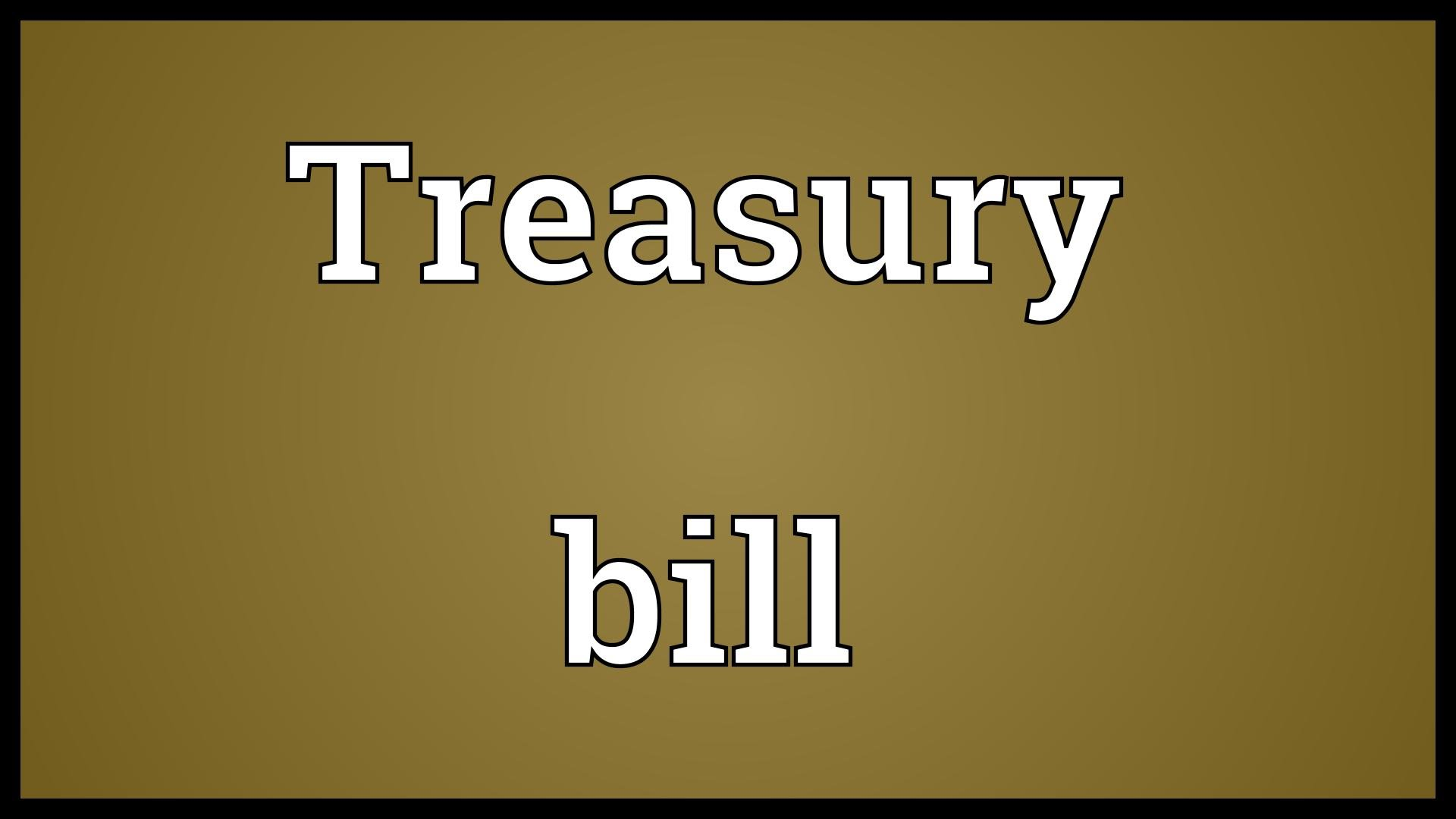 treasury bills in india